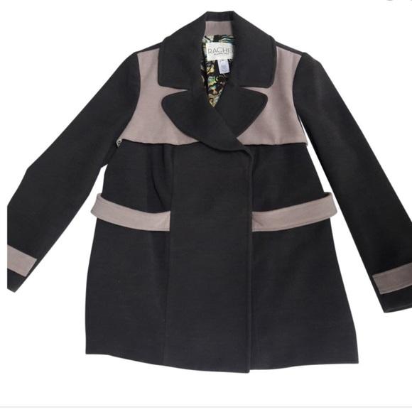 RACHEL Rachel Roy Jackets & Blazers - Rachel Roy XL coat, Grey two toned winter jacket